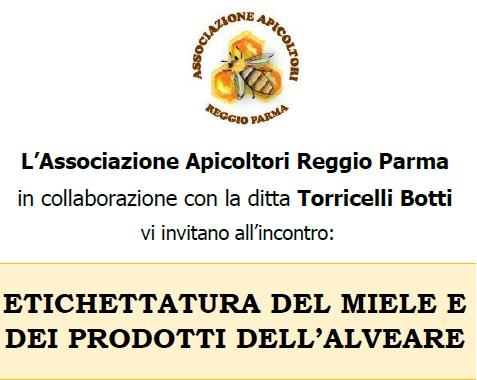 Incontro Etichettatura Miele e Prodotti dell'alveare – 12/12/2018 Fogliano (RE)