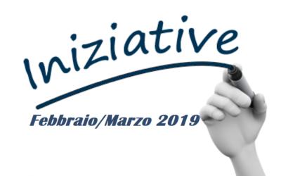 Programma Incontri Febbraio 2019