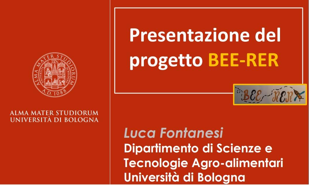 Presentazione progetto BEE-RER: diretta Facebook venerdi 15 maggio ore 21:00