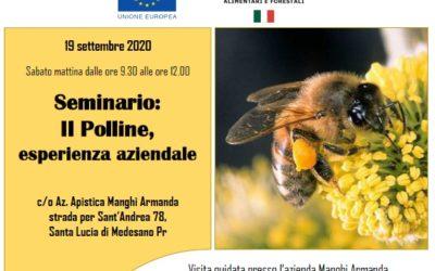 Incontro tecnico sul polline: 19/09/2020 ore 9:30 c/o Az. Manghi