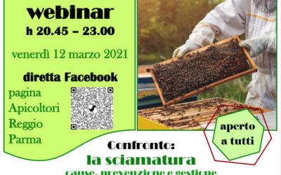 Confronto: la Sciamatura. Cause, prevenzione e gestione 12/03 – diretta Facebook h 20.45